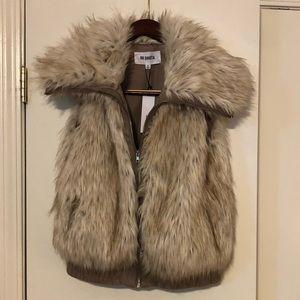 BB Dakota Hettie Faux Fur Vest